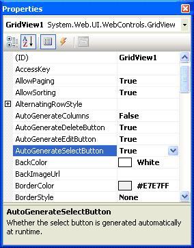 Gridview Primary Key